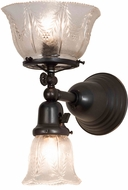 Meyda Tiffany 157107 Revival Summer Wheat Craftsman Brown Wall Light Fixture