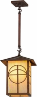 Meyda Tiffany 157408 Seneca Circle Cross Bai Vintage Pendant Lamp