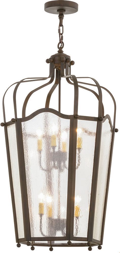 Art Glass Foyer Light : Meyda tiffany citadel classic rust clear seedy