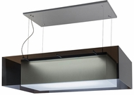 Meyda Tiffany 157722 Quadrato Shadow Box Modern Extreme Chrome LED Kitchen Island Light