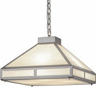 Meyda Tiffany 158130 Whitewing Prime Modern Nickel / Ca Ceiling Light Pendant