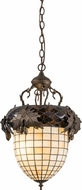 Meyda Tiffany 158682 Greenbriar Oak Modern Tyler Bronze Hanging Lamp