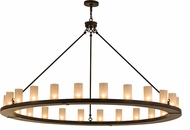 Meyda Tiffany 159969 Loxley Modern Oil Rubbed Bronze Lighting Chandelier