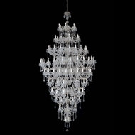 Meyda Tiffany 160127 Maya Crystal / Chrome Hanging Chandelier