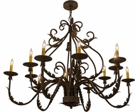 Meyda Tiffany 160180 French Elegance Antiquity Chandelier Lamp