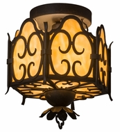 Meyda Tiffany 160262 Radha Chestnut Ceiling Light