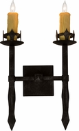 Meyda Tiffany 160895 Castilla Smoke Lamp Sconce