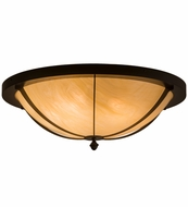 Meyda Tiffany 161900 Dominga Timeless Bronze/Honey Onyx Acrylic Flush Lighting