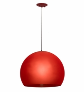 Meyda Tiffany 162251 Bola Play Contemporary Red Hanging Pendant Lighting
