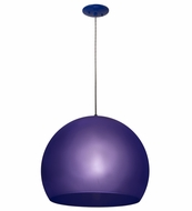 Meyda Tiffany 162255 Bola Play Contemporary Blue Pendant Hanging Light
