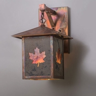 Meyda Tiffany 162642 Seneca Maple Leaf Wall Lighting Sconce