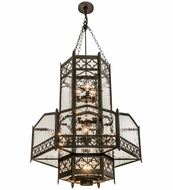 Meyda Tiffany 162812 Church Chestnut Foyer Lighting Fixture