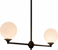 Meyda Tiffany 162981 Salome Modern Oil Rubbed Bronze Island Lighting