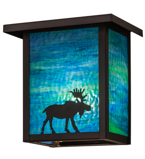 Meyda Tiffany 163102 Hyde Park Moose Brown Blue Green