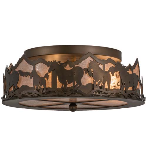 Meyda tiffany 164280 wild horses antique coppersilver mica meyda tiffany 164280 wild horses antique coppersilver mica fluorescent flush mount ceiling light fixture loading zoom mozeypictures Choice Image