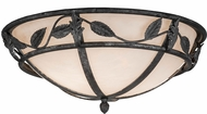 Meyda Tiffany 169272 Estelle Rustic Smoke Whitestone Acrylic LED Ceiling Lighting Fixture