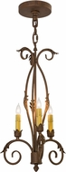 Meyda Tiffany 169643 Alexandria Cortez Gold Mini Lighting Chandelier