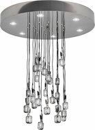Meyda Tiffany 170905 Phonic Modern Chrome Halogen Multi Drop Lighting