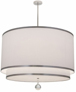 Meyda Tiffany 172611 Cilindro Nickel Drum Lighting Pendant
