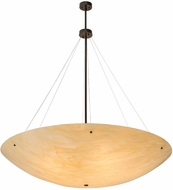 Meyda Tiffany 172657 Madison Modern Timeless Bronze Hanging Lamp