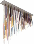 Meyda Tiffany 172710 Pae Kukuna Contemporary Multicolor LED Ceiling Chandelier