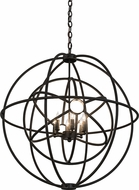 Meyda Tiffany 174579 Atom Enerjisi Contemporary Timeless Bronze Pendant Lighting Fixture