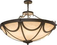 Meyda Tiffany 174841 Carousel Oil Rubbed Bronze Hanging Pendant Light