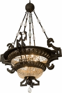 Meyda Tiffany 174999 Amphora Mottled Gold Drop Ceiling Light Fixture