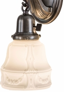 Meyda Tiffany 175725 Revival Garland Acid Washed White Wall Lighting Sconce