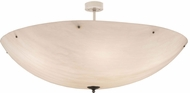 Meyda Tiffany 176555 Madison Contemporary Nickel Fluorescent Overhead Lighting