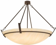 Meyda Tiffany 176757 Covina Modern Cafe Noir / Honey Onyx Acrylic Ceiling Pendant Light