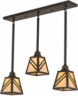 Meyda Tiffany 177095 Diagon Contemporary Oil Rubbed Bronze Multi Drop Lighting Fixture