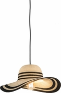 Meyda Tiffany 177157 Modern Beige Pendant Light