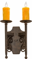 Meyda Tiffany 177305 Toscano Cajun Spice Wall Sconce Lighting