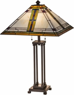 Meyda Tiffany 177348 Nevada Tiffany Table Lighting