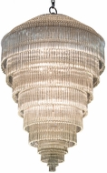 Meyda Tiffany 177524 Marquee Supreme Contemporary Sparkle Silver Hanging Pendant Light