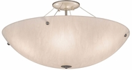 Meyda Tiffany 177544 Cypola Modern Nickel LED Overhead Lighting