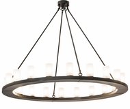 Meyda Tiffany 177858 Loxley Contemporary Timeless Bronze Chandelier Lamp