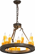 Meyda Tiffany 178029 Deina Chestnut Mini Hanging Chandelier