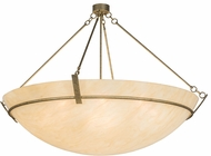 Meyda Tiffany 178178 Covina Contemporary Sahara Taupe Drop Ceiling Light Fixture
