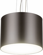 Meyda Tiffany 179031 Cilindro Metal-Tex Contemporary LED Drum Drop Ceiling Lighting