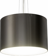 Meyda Tiffany 179033 Cilindro Metal-Tex Modern LED Drum Ceiling Light Pendant