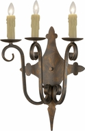 Meyda Tiffany 180032 French Bronze Light Sconce
