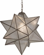 Meyda Tiffany 180200 Moravian Star Zasdy Drop Ceiling Light Fixture
