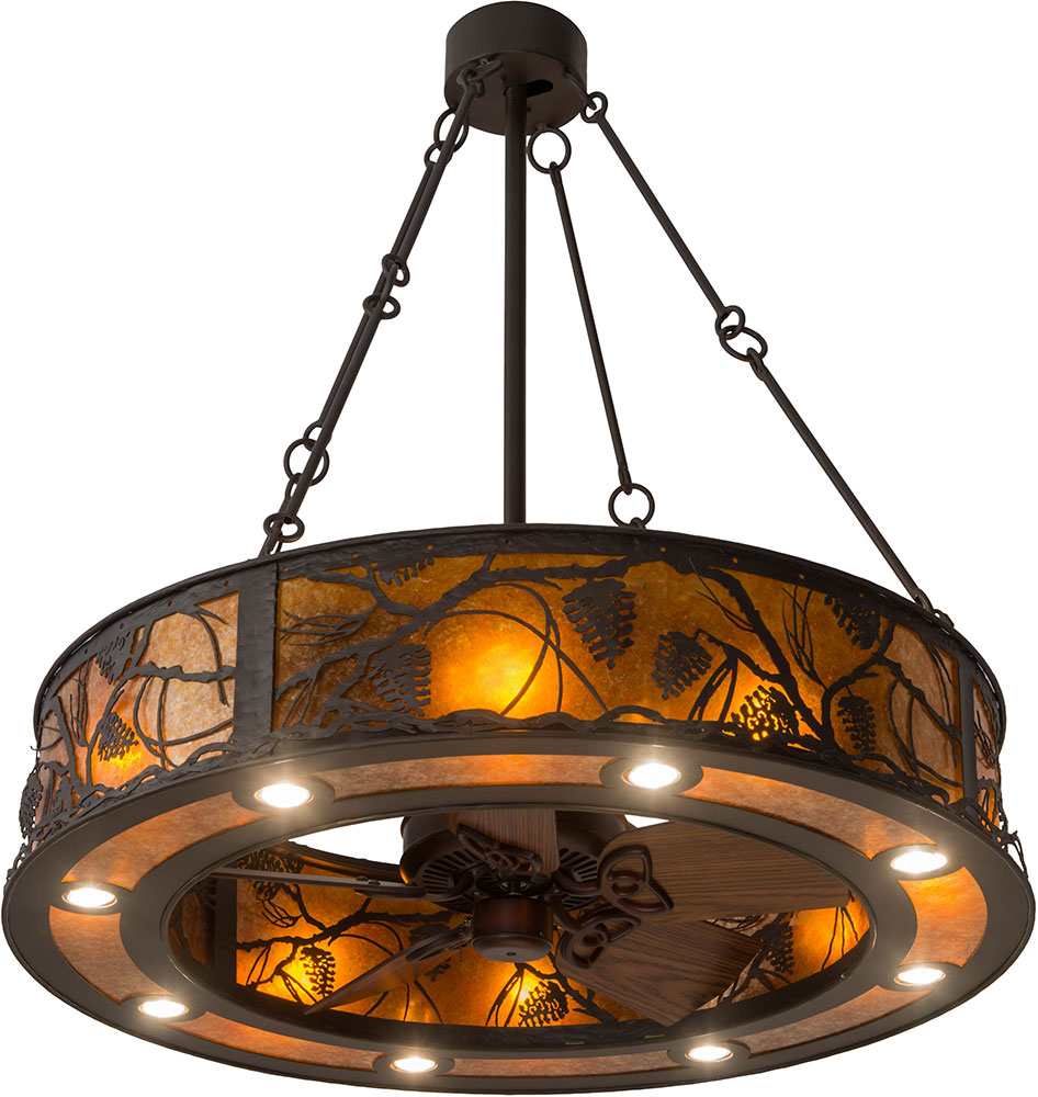Meyda tiffany 181388 whispering pines rustic oil rubbed bronze meyda tiffany 181388 whispering pines rustic oil rubbed bronze amber mica ceiling fan light fixture loading zoom aloadofball Choice Image