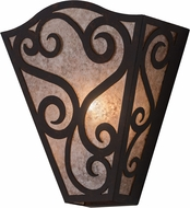 Meyda Tiffany 181726 Rena Cajun Spice / Silver Mica Wall Lighting