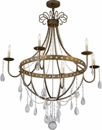 Meyda Tiffany 182546 Azaleia Chandelier Lamp