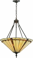 Meyda Tiffany 182672 Belvidere Tiffany Drop Ceiling Light Fixture