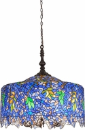 Meyda Tiffany 182933 Tiffany Wisteria Tiffany Drop Lighting Fixture
