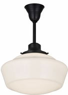 Meyda Tiffany 184047 Revival Schoolhouse Craftsman Pendant Light Fixture